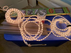 RV Camper Awning 18' Rope Lights With Track for Sale in Hudson, FL