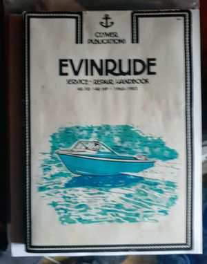 Evinrude mechanics manual for Sale in Seattle, WA