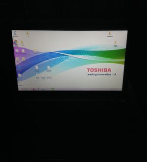 Toshiba laptop with charger and bag for Sale in Kentfield, CA