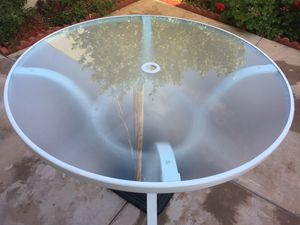 "Brand New patio furniture.. $ 28 Umbrella 18"" Base Stand Patio Outdoor Heavy Duty Market Garden, Weight: 33 lbs + Luxury patio table $ 45 for Sale in Stanton, CA"
