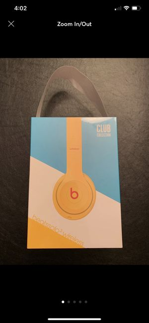 NEW Beats Solo3 Headphones (Club Yellow) for Sale in Oak Brook, IL