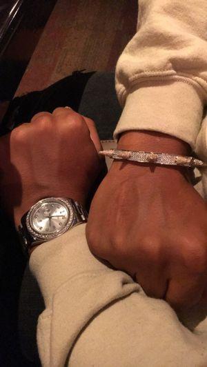 Diamond spike bracelet for Sale in Lawrenceville, GA