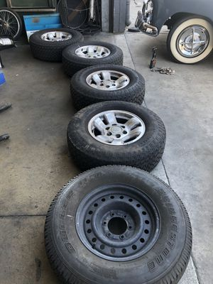 Toyota 4 runner wheels 16x7 6x5.5 for Sale in Los Angeles, CA
