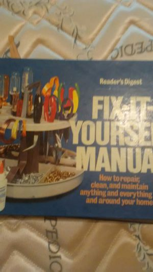 Vintage readers digest fix it yourself manual for Sale in Lima, OH