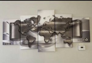 World map frame for Sale in Gaithersburg, MD