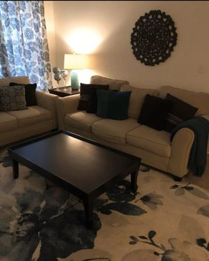 Couch, loveseat and side chair for Sale in Raleigh, NC