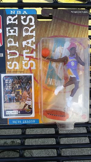 NBA court collection Kobe Bryant action figure for Sale in Seattle, WA