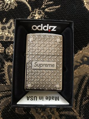 Supreme Zippo Diamond Plated for Sale in Fontana, CA
