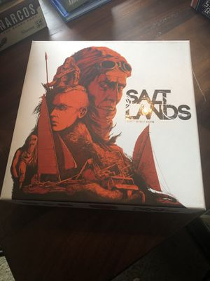 Salt Lands Board Game plus expansion for Sale in Austin, TX