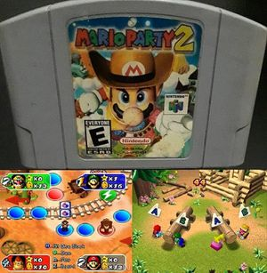 Nintendo 64 Mario Party 2 N64 for Sale in New York, NY