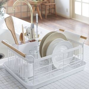 Yamasaki Home Tosca Dish Drainer Rack in White for Sale in Renton, WA