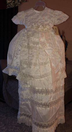 2 Piece baptism Dress Size 1/ New Never Used for Sale in Glendale,  AZ
