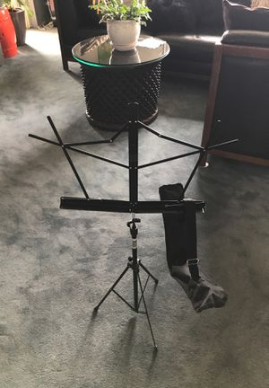 Portable-Collapsible music stand with carrying case. NEW for Sale in New York, NY