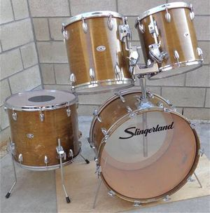 "Vintage Slingerland Magnum Drum Set. 13x13"" 14x14"" 16x18"" and 14x24"" for Sale in City of Industry, CA"