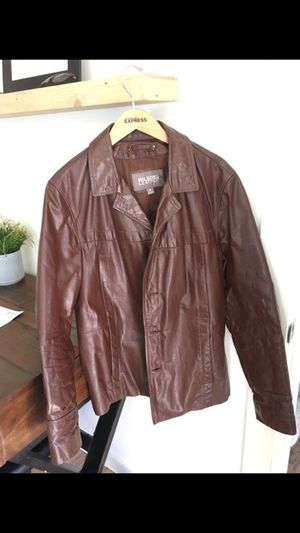 Men's Wilson leather jacket size M for Sale in Wenatchee, WA