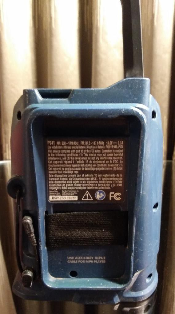 RYOBI Wireless Blue Tooth RADIO