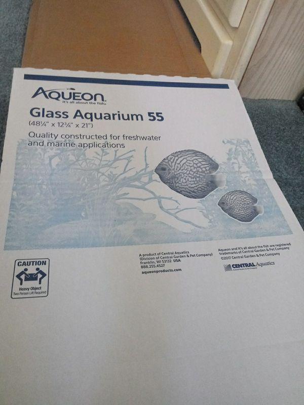 Aqueon 36 gallon Glass Aquarium