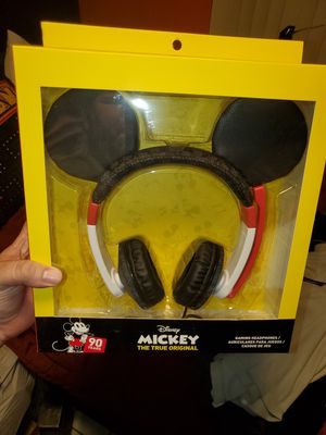 Mickey mouse ears gaming headphones brand new for Sale in Miami, FL