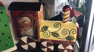 Illuminated Holiday Metal Train Santa for Sale in Pompano Beach, FL