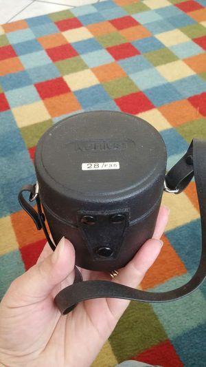 Konica hexagon AR 28mm f/3.5 lens for Sale in Saint Petersburg, FL