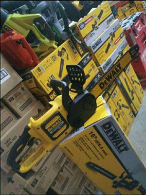 DEWALT FLEXVOLT 60V CHAINSAW 16 IN for Sale in San Bernardino, CA