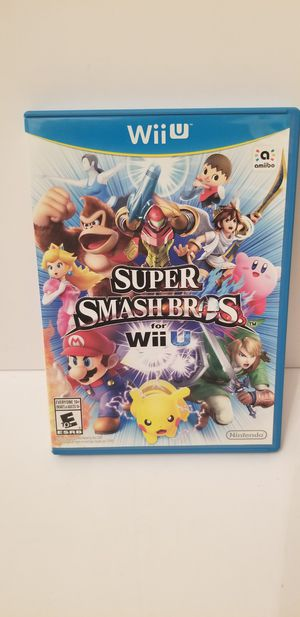 Super Smash Bros. (Nintendo Wii U, 2014) for Sale in Milton, PA