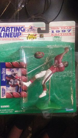Jerry Rice Starting Lineup Collectible for Sale in National City, CA