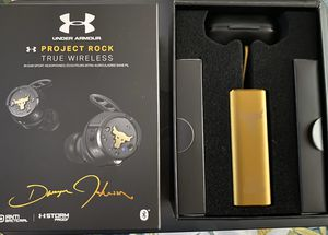 Limited Edition Project Rock sport headphones for Sale in Covina, CA