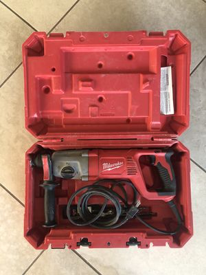 Milwaukee Roto Hammer with Case for Sale in Oceanside, CA