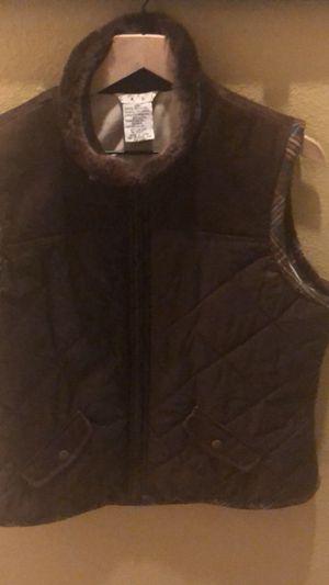 New cabi women brown large winter vest for Sale for sale  Murrieta, CA
