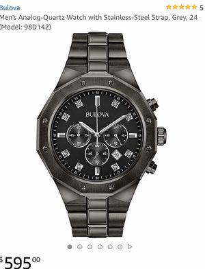 Bulova diamond watch for Sale in Little Rock, AR