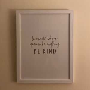 Be Kind Picture for Sale in Hampton, VA