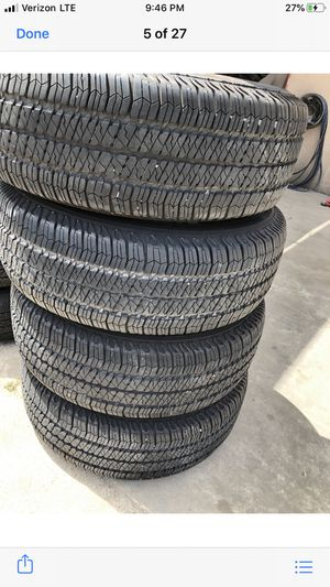 Goodyear tires like new for Sale in Highlands, TX
