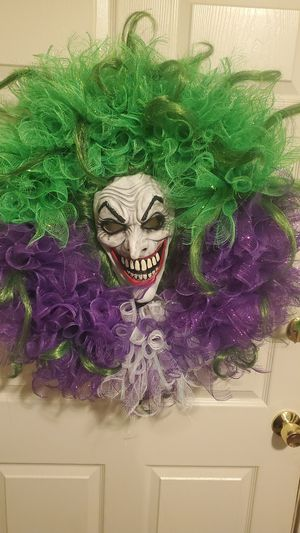 Joker X-Large Wreath for Sale in Fresno, CA