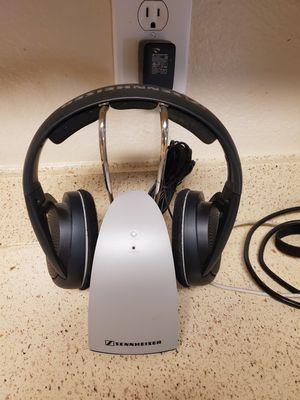 Pair of Sennheiser TR120 Wireless Headphone with one Charging Dock for Sale in Orlando, FL