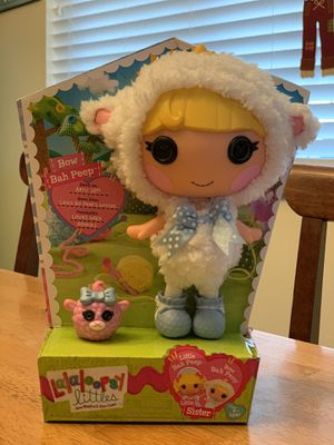 2014 Lalaloopsy Bow Bah Peep w/ small sheep - New for Sale in Sacramento, CA