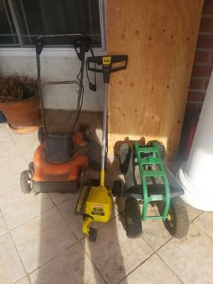 Lawn mower and edger for Sale in Poway, CA