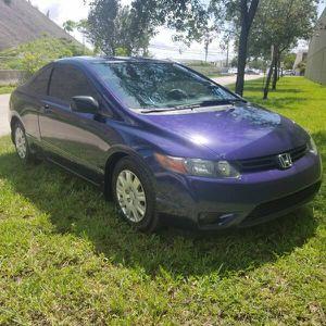 2008 Honda Civic Cpe for Sale in Miami, FL