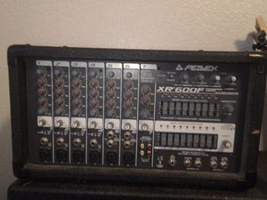 Peavey XR600F sound mixer/PA for Sale in Chico, CA