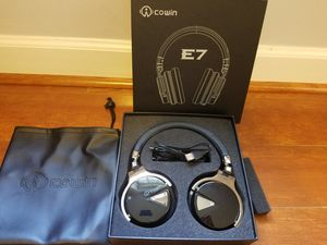 COWIN E7 Active Noise Cancelling Headphones Bluetooth for Sale in Aspen Hill, MD
