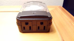 Indoor Outdoor Timer Dual Outlet for Sale in Chelan, WA