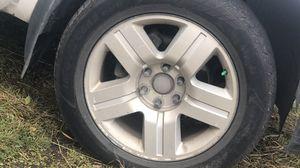 20 inch rims off of Chevy Silverado for Sale in Anchorage, AK