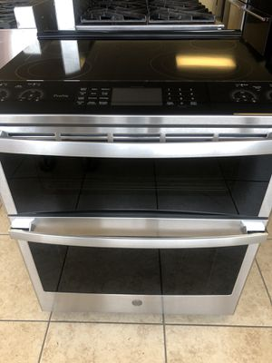 Ge profile Slide Electric Double oven Stainless Steel New for Sale in Phoenix, AZ
