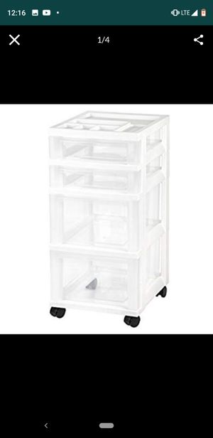 Plastic drawer organizer for Sale in West Hollywood, CA