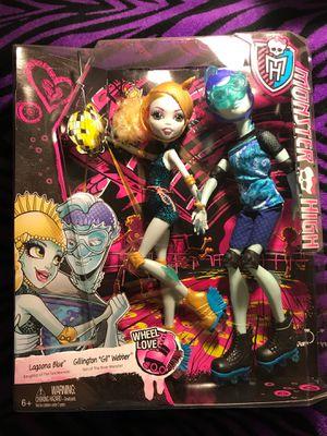 Monster High Dolls Lagonna Blue & Gil Webber for Sale in Incline Village, NV