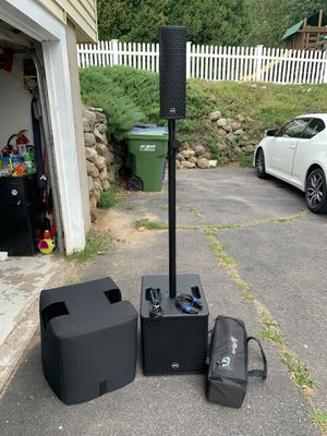 Monoprice StreamLine 800W Powered Column Array PA Active Speaker DJ Stage Right for Sale in East Hampton, CT