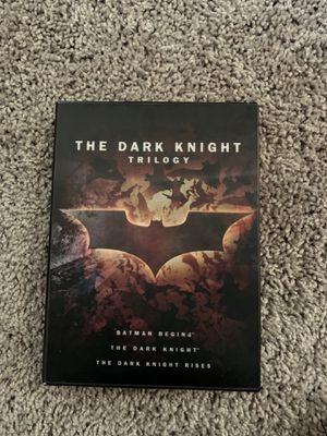 The Dark Night Trilogy CDs and image book for Sale in Chino, CA