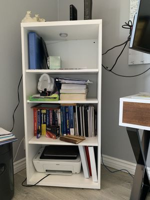 Bookcase shelves with light for Sale in Los Angeles, CA