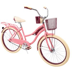"""Huffy 24"""" Nel Lusso Girls' Cruiser Bike with Perfect Fit Frame, Pink for Sale in Santee, CA"""