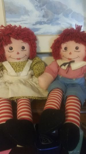 Handmade1970 Raggedy Ann & Andy for Sale in Port Royal, SC